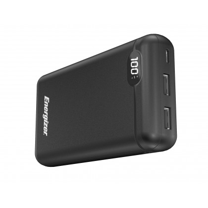 Energizer UE20003C 20,000mAh HIGHTECH FAST CHARGING POWER BANK Type-C Fast Charge with LCD Display (*Original Set)