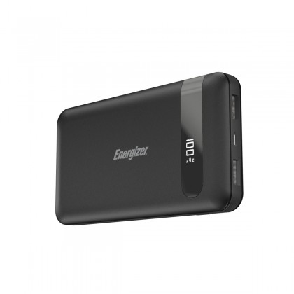 Energizer UE10036 10,000mAh HIGHTECH FAST CHARGING POWER BANK Type-C Fast Charge with LCD Display (*Original Set)