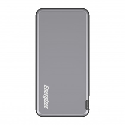 Energizer UE10046 10000mAh ( *Titanium Gray ) Type-C Fast Charge Power Bank Dual Outputs with LCD Display (*Original Set)
