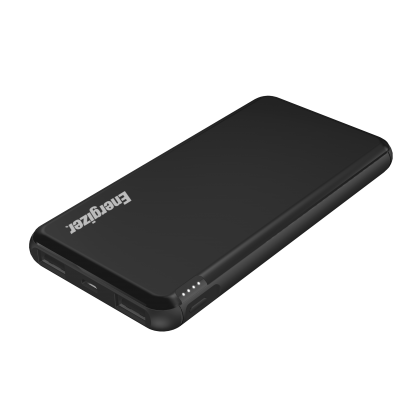 Energizer UE10046 10000mAh ( *BLACK ) Type-C Fast Charge Power Bank Dual Outputs with LCD Display (*Original Set)