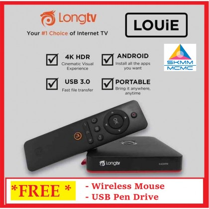 (*READY STOCK+FREE GIFT) Long TV Smart TV Movie Box MCMC licensed Certify (Pre-installed live channels + Latest Apps) IPTV Malaysia Warranty Internet TV