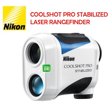 Nikon COOLSHOT PRO STABILIZED LASER RANGEFINDER GOLF