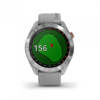 New 2019  Garmin Approach S40 GPS Golf Watch with Touchscreen GRAY (# Free Screen Protector + Update Golf Courses) BLACK * 100% Original set / Warranty by AECO Malaysia