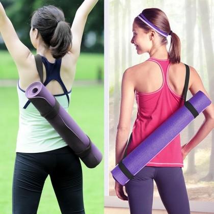Adjustable Portable Yoga Mat Sling Carrier Shoulder Strap Carry Belt Carrying Sling Rope