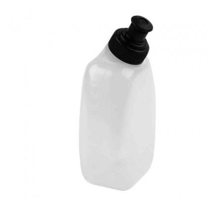 250ml PE/PP Running Jogging Hiking Sports Water Bottle for Waist Belt Bag (White)