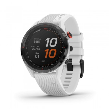 Garmin Approach S62  (WHITE)GOLF Smart Watch With Built in Heart Rate (*Free Screen Protector+Update Latest Golf Courses) *Original Set