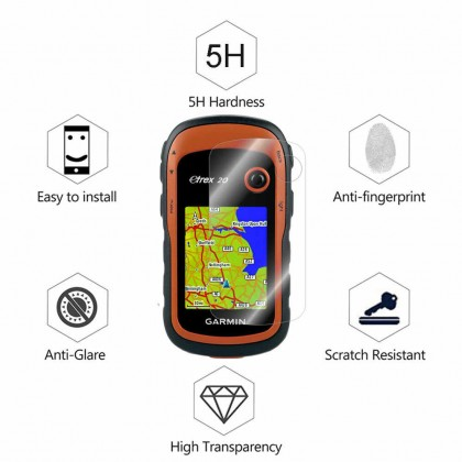 Clear LCD Screen Protector for Garmin eTrex 10x 20x 30x Handheld GPS ( *Fit Screen ) Anti-Scratches