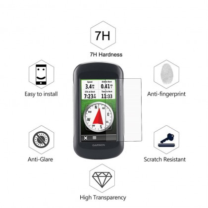 Clear LCD Screen Protector for Garmin Montana 680 650 600 Handheld GPS ( *Fit Screen ) Anti-Scratches