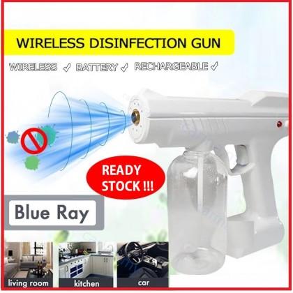 WIRELESS Electric Nano Mist Spray Gun , Disinfectant Mist Gun, Nano Atomizer Machine for Home, Office, School, Garden & Salon